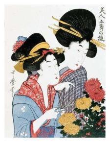 kitagawa utamaro chrysanthemums ukiyo e print japan a G 6236327 8880730 225x300 - Strona główna