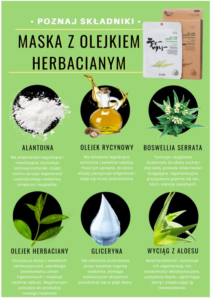 Poznaj składniki • 724x1024 - Olejek herbaciany - pochodzenie i właściwości