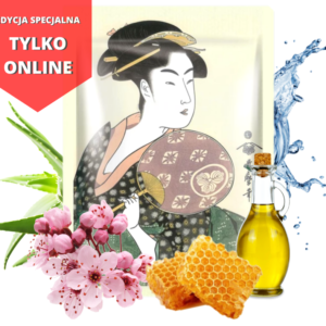 2 300x300 - Maska z Mleczkiem Pszczelim i Kwiatem Wiśni Japońskiej