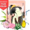 3 100x100 - Maska z wyciągiem z zielonej Herbaty Matcha i kwiatu Camelli